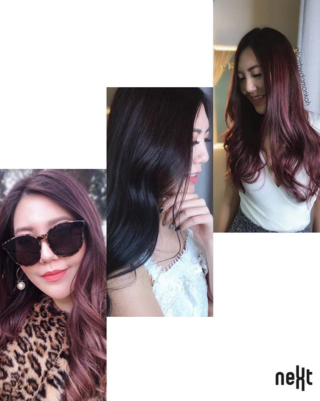 ✨Nextsignaturehairpainting✨ ⠀ #nextsignaturehairpainting is a technique we use widely these days for our clients. Often clients will ask what's hair painting and does hair painting required to bleach? ⠀ ☑️Less noticeable regrowth lines than traditional highlights. ⠀ ☑️ Emulates the parts of your hair that would naturally lighten in the sun. ⠀ ☑️ Grows out beautifully meaning less maintenance. ⠀ ☑️Bleaching is subjective to the colour choices. ⠀ ☑️The principal idea being less is more when creating soft, natural looks. ⠀ Call us for more info at ⠀ ☎️ +65 6467 3323 / 6468 3323 ⠀ #nshv #nextsignaturehairpainting #colourgloss