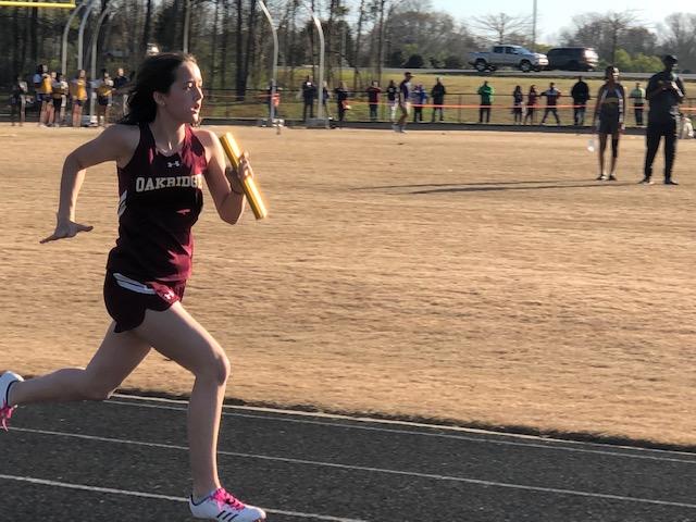 Ellie running.