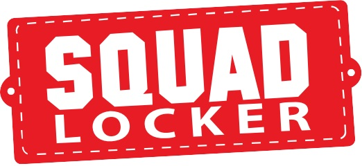 Thanks to our merchandise partner - Squad Locker!