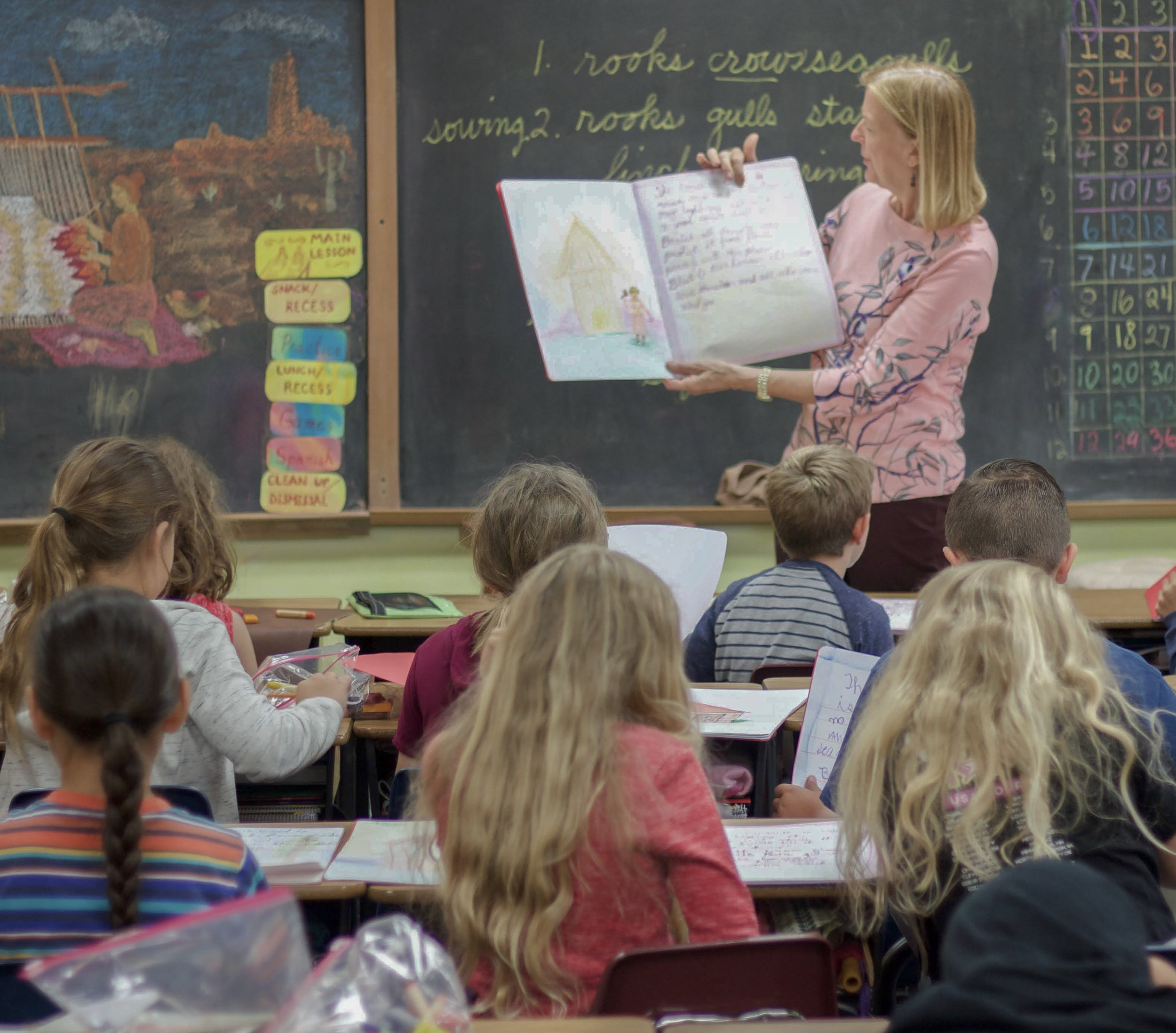 Waldorf Education - As a school guided by the Core Principles of Waldorf Education, there are a few things we do differently than the typical elementary school.