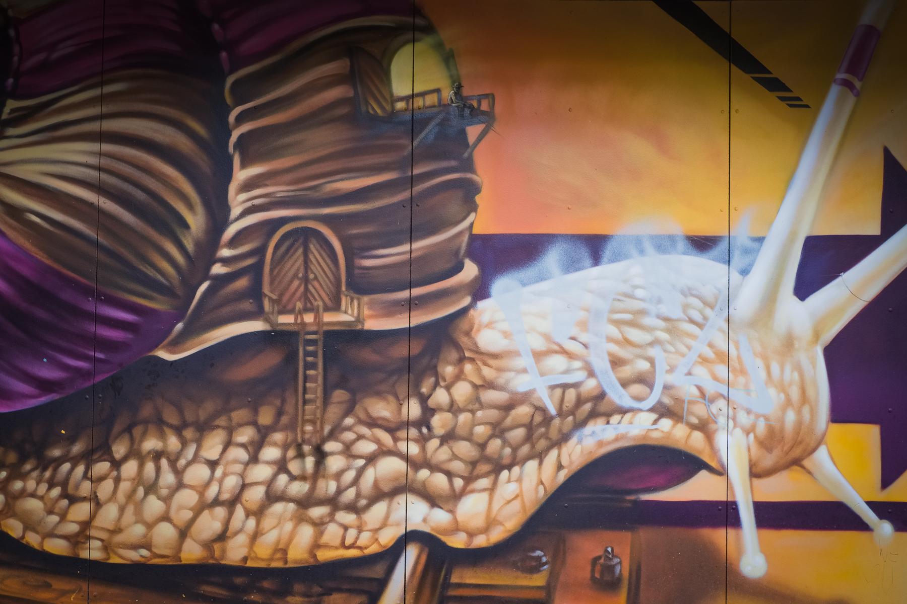 Zürich Kreis 5 Graffiti - Hans-Peter Breiter - www.zeitbilder.ch