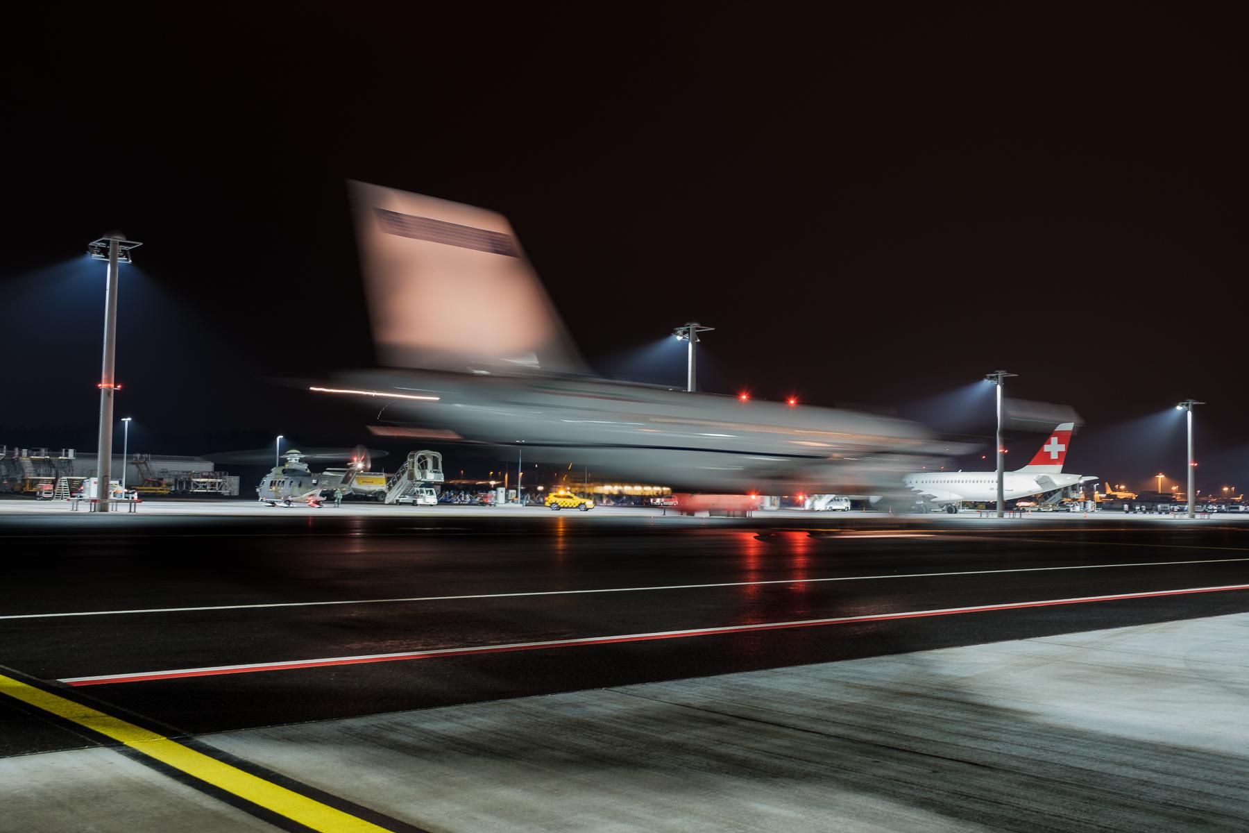 Flugzeuge Zürich-Kloten WEF 2019 - Hans-Peter Breiter - www.zeitbilder.ch