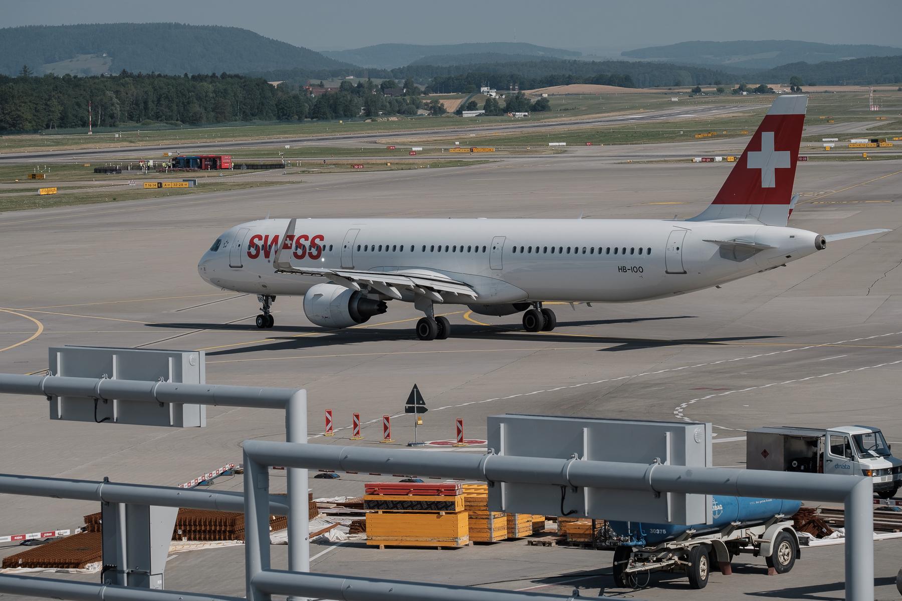 Flughafen Zürich-Kloten - Hans-Peter Breiter - www.zeitbilder.ch