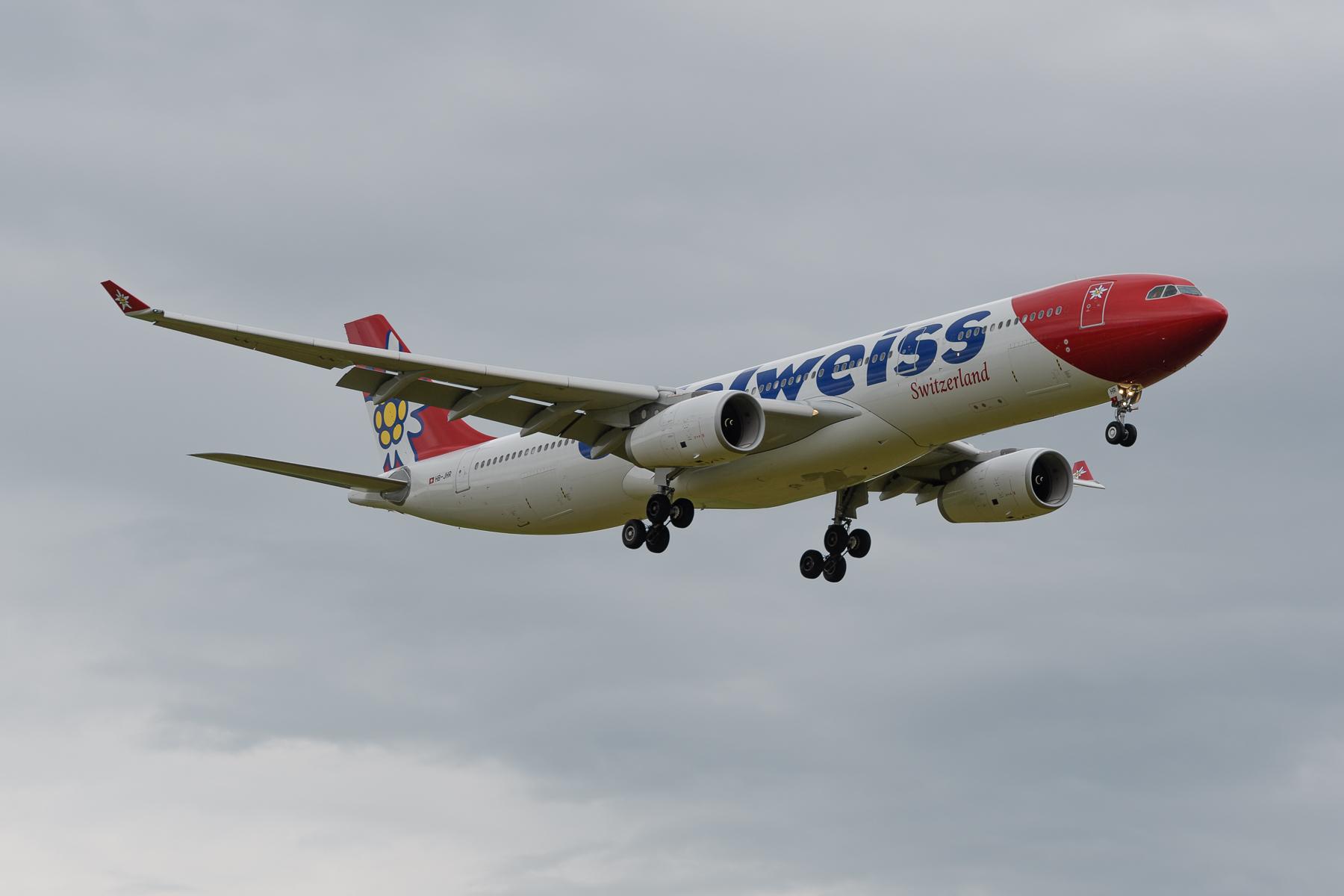 Landungen Runway 14 Flughafen Zürich-Kloten