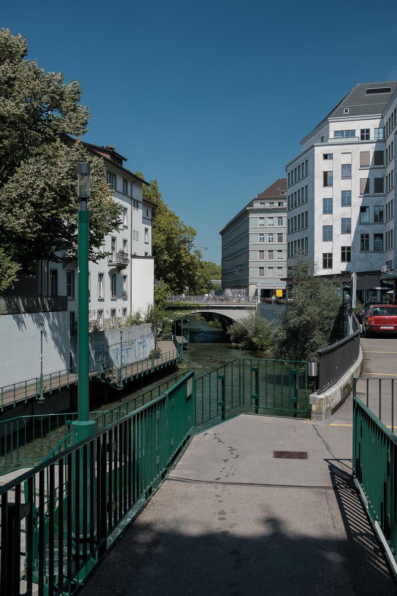 Zürich Schanzengraben - Hans-Peter Breiter - www.zeitbilder.ch