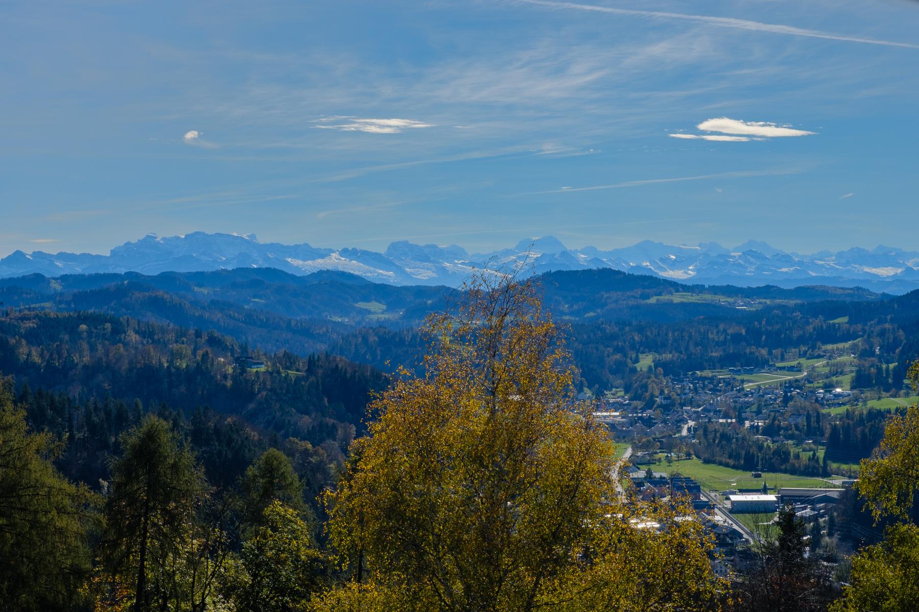 Brauiweiher bei Weisslingen und Girenbad bei Hinwil