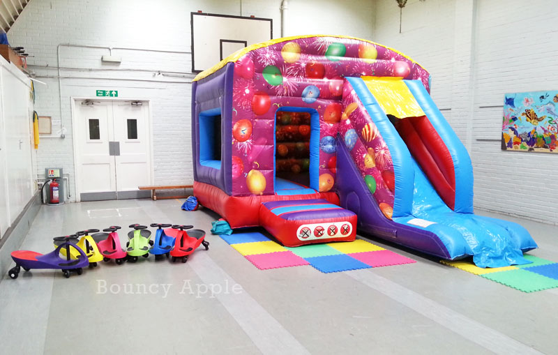Bouncy Castle in the Lower Hall