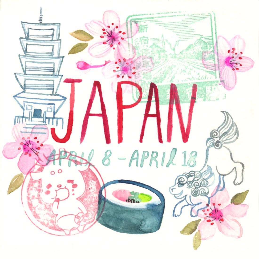JAPAN TRAVEL SKETCHBOOK