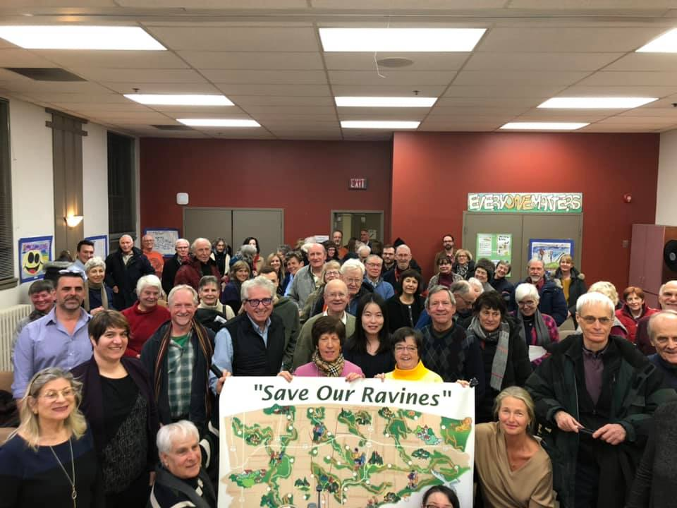 January 21, 2019 Save our Ravines Town Hall