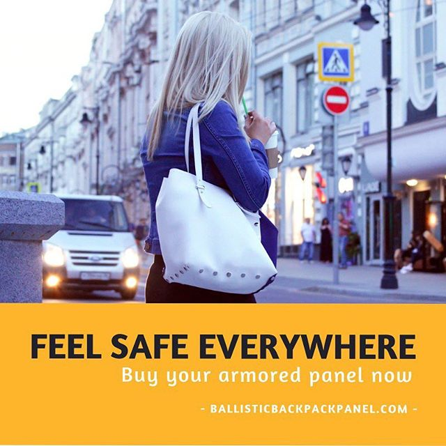Enjoy every day. Feel safe with our panel 🇺🇸 • • Buy your defensive ballistic protection panel now at ballisticbackpackpanel.com 🆕. • • #ballistic #ballisticbackpackpanel #work #yourself #safety #bestdefense #tips #parentingteens #schoolresourceofficer #schoolsafety #protection #parents #activeshooter #activeshootertraining #activeshooterresponse #armor #usa #washingtondc #newyork #lovekids #lovefamilytime