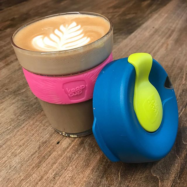 Environmentally friendly never looked so good 🌎 Buy a Keep Cup in store and get one free drink to go with it!! ☺️ You also get a $0.25 discount every time you BYOC!  Available in assorted colours  #keepcup #coffee #toronto #trinitybellwoods #yyzcoffee #torontocoffee