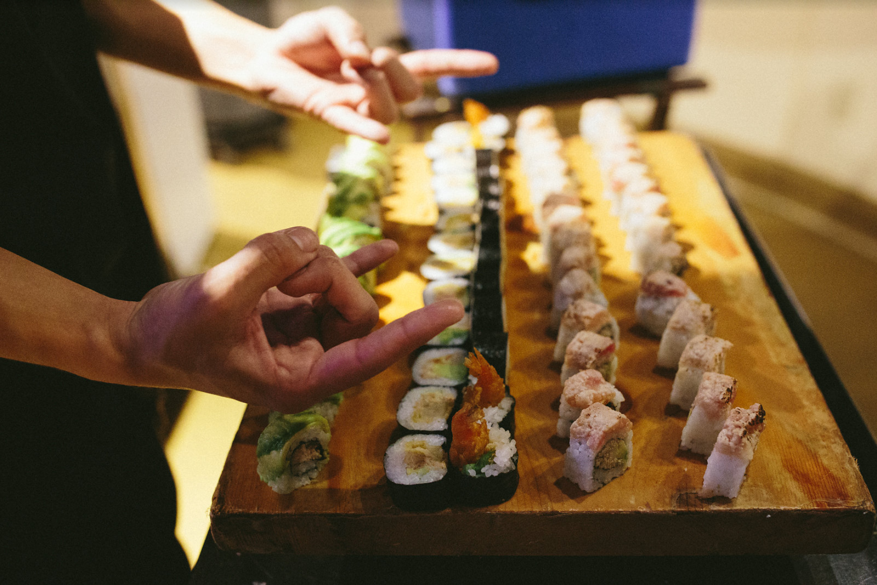 INFUSED SUSHI CATERING -