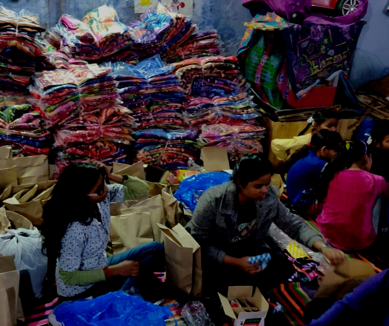 Blankets for India