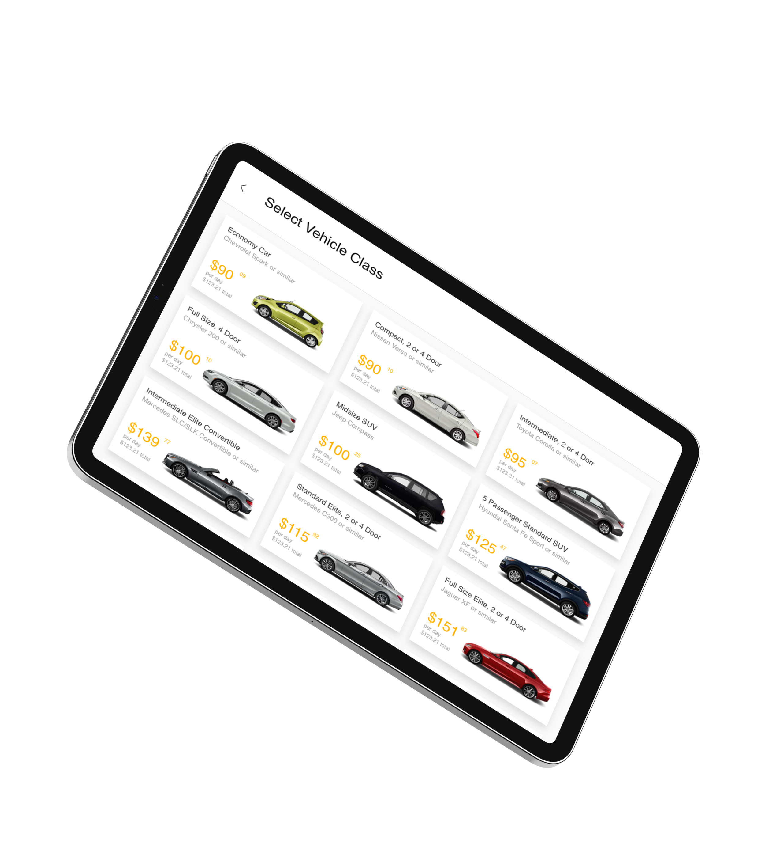 Manage your fleet easier than ever before - Case study for Hertz fleet management app.