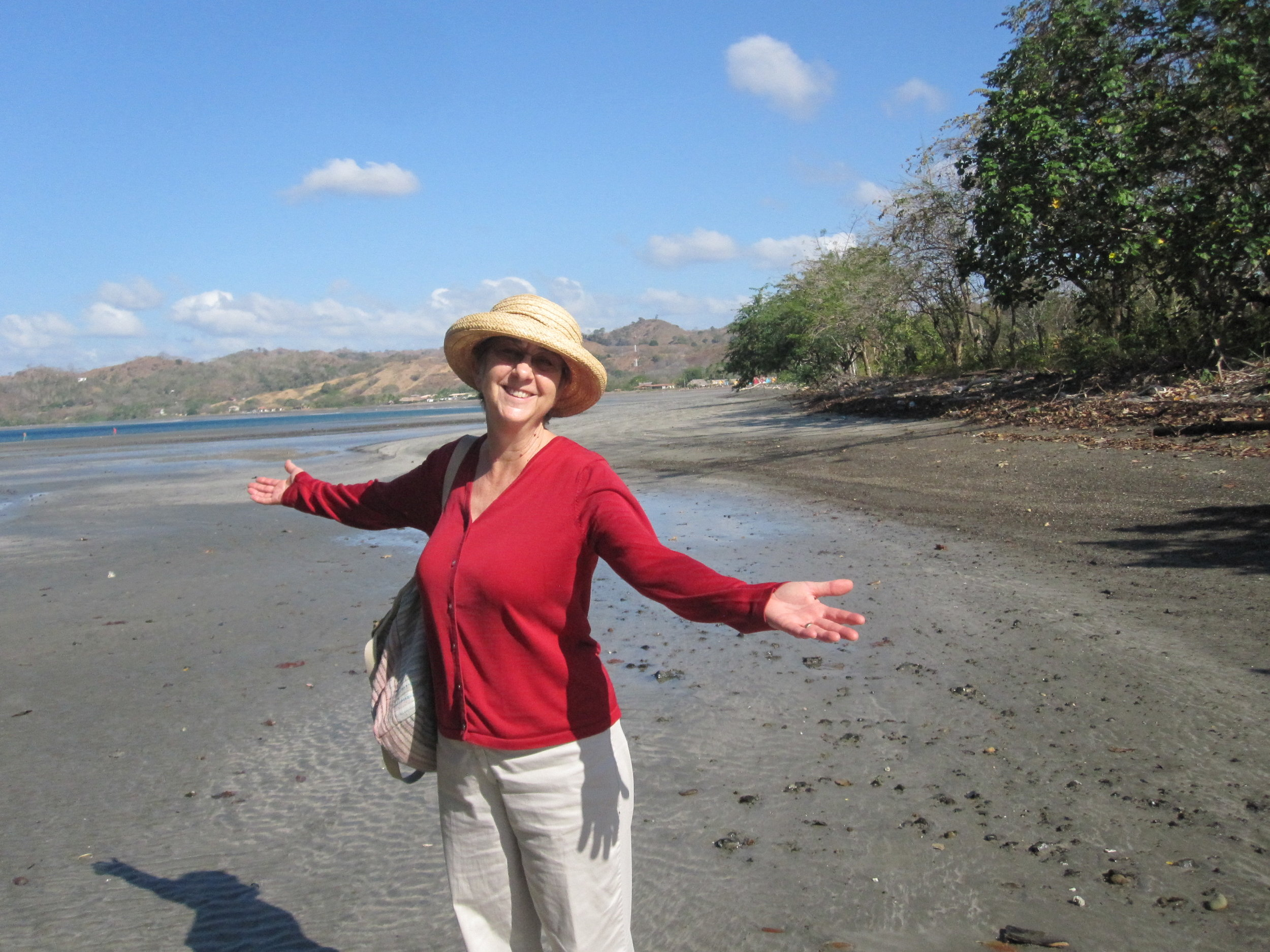 """Sarah McCarthy On the Pacific beach, near Eco Venao, Panama, 2015 """"My favorite place when not in Denver."""""""