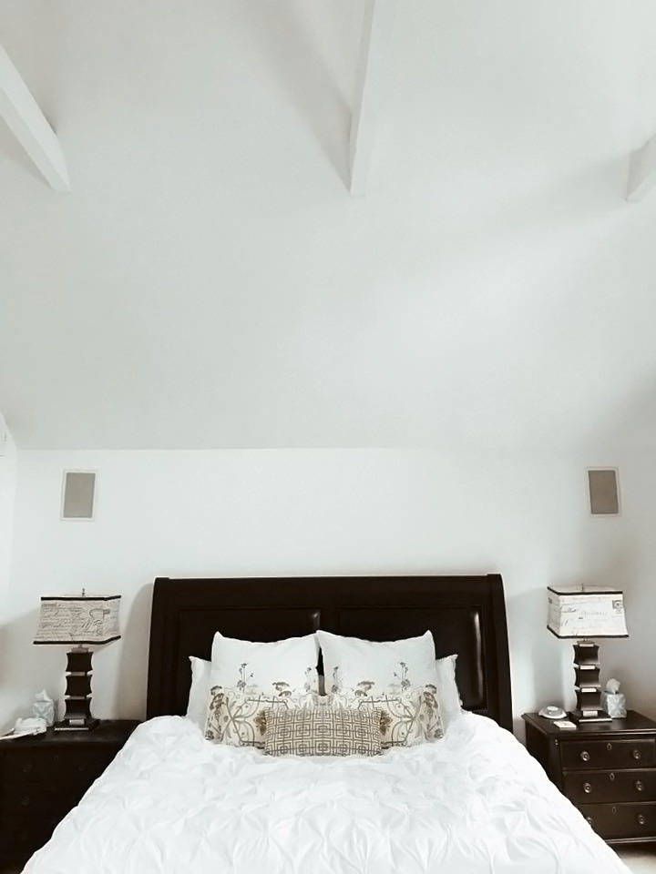 16' Cathedral Ceiling Private Master King Suite with skylights