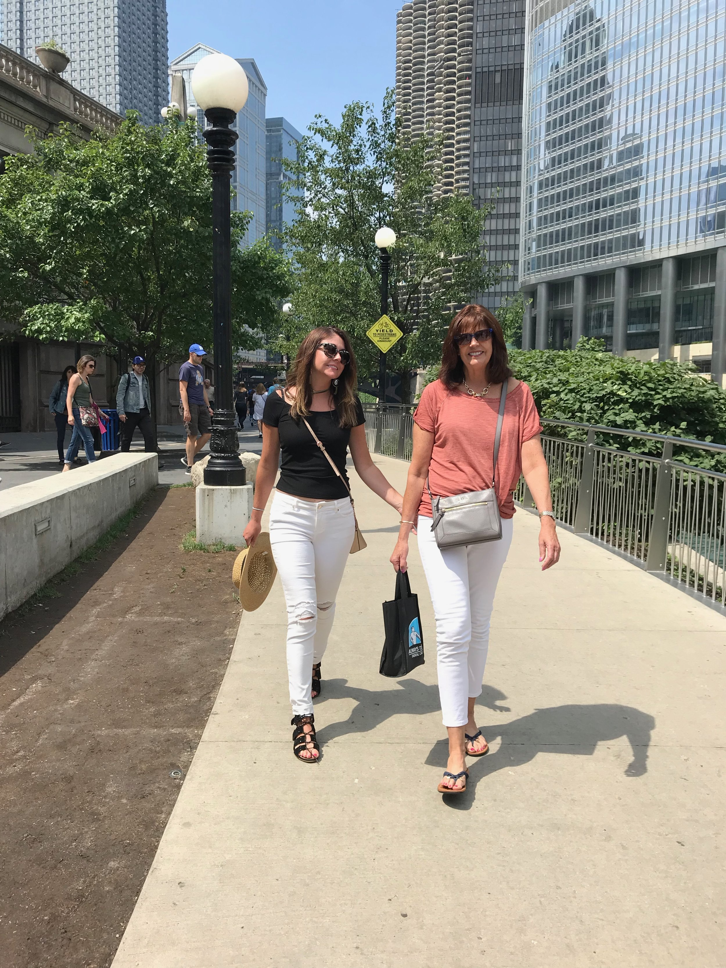 Chicago's Riverfront Walk in the Loop