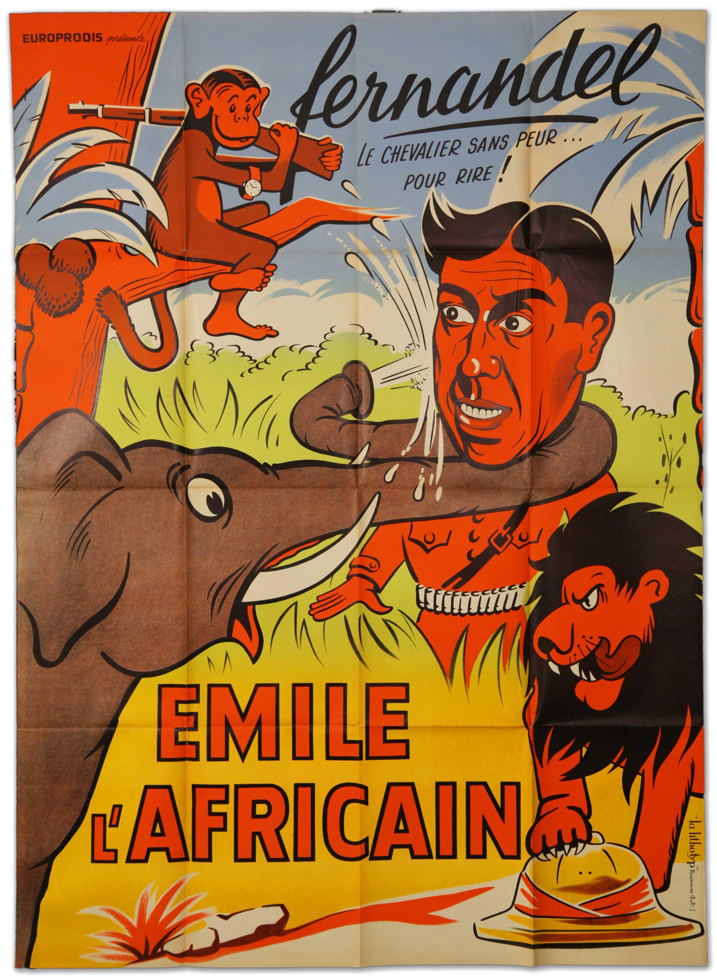 "Fernadel in ""Emile L'Africain"" (1948)"