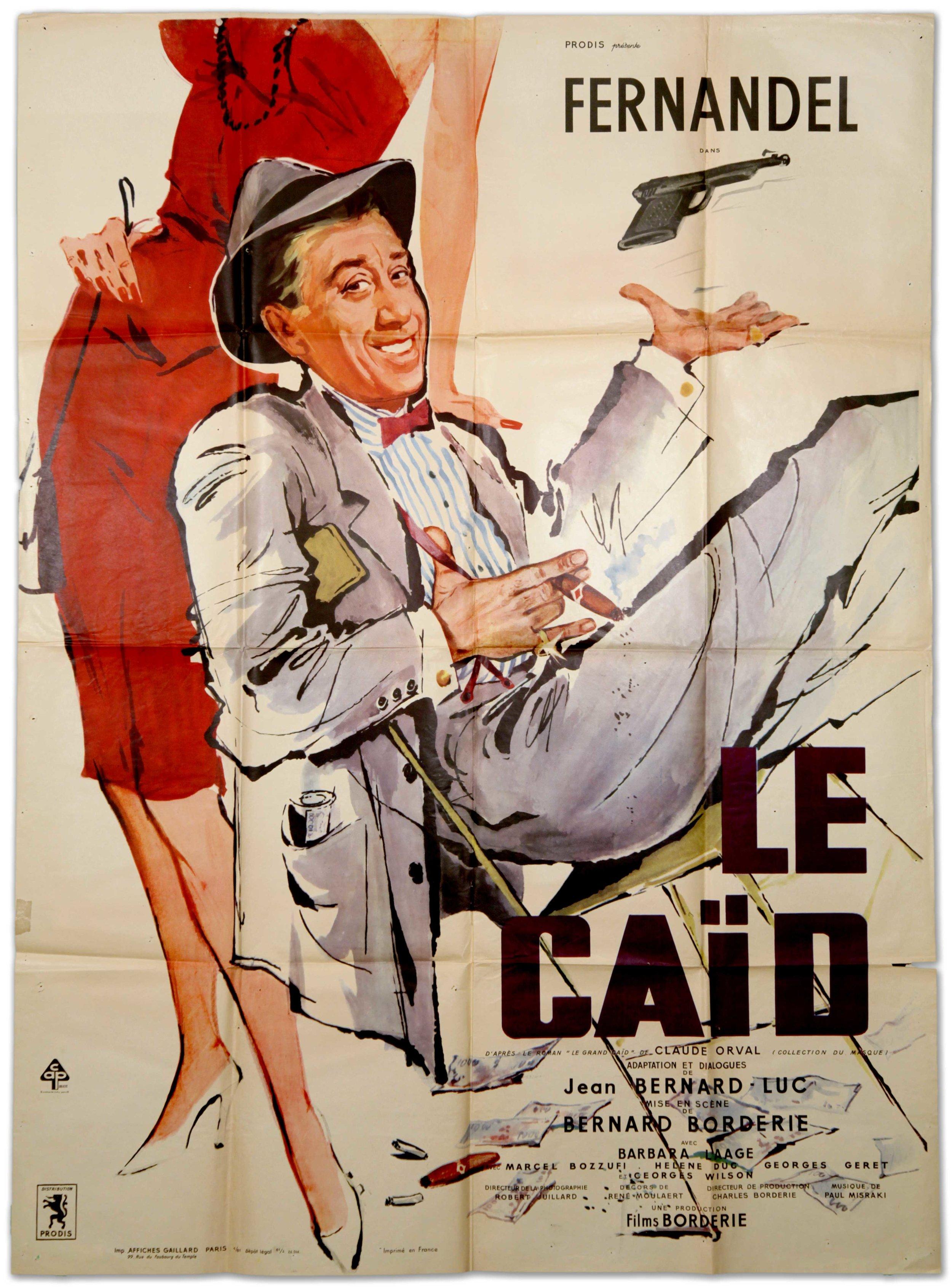 """Fernadel in """"Le Caïd"""" (1950)"""