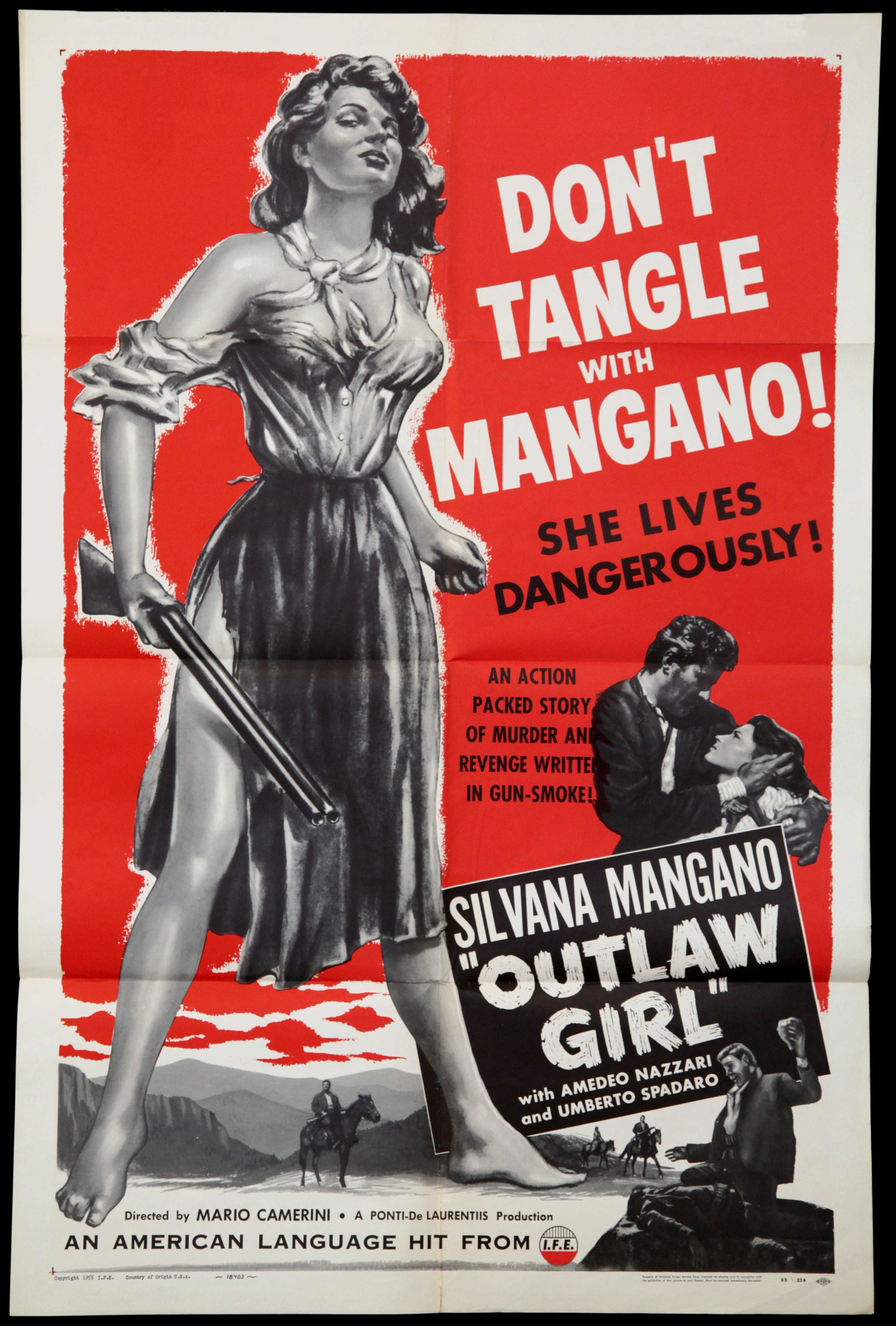 Outlaw Girl (1950)
