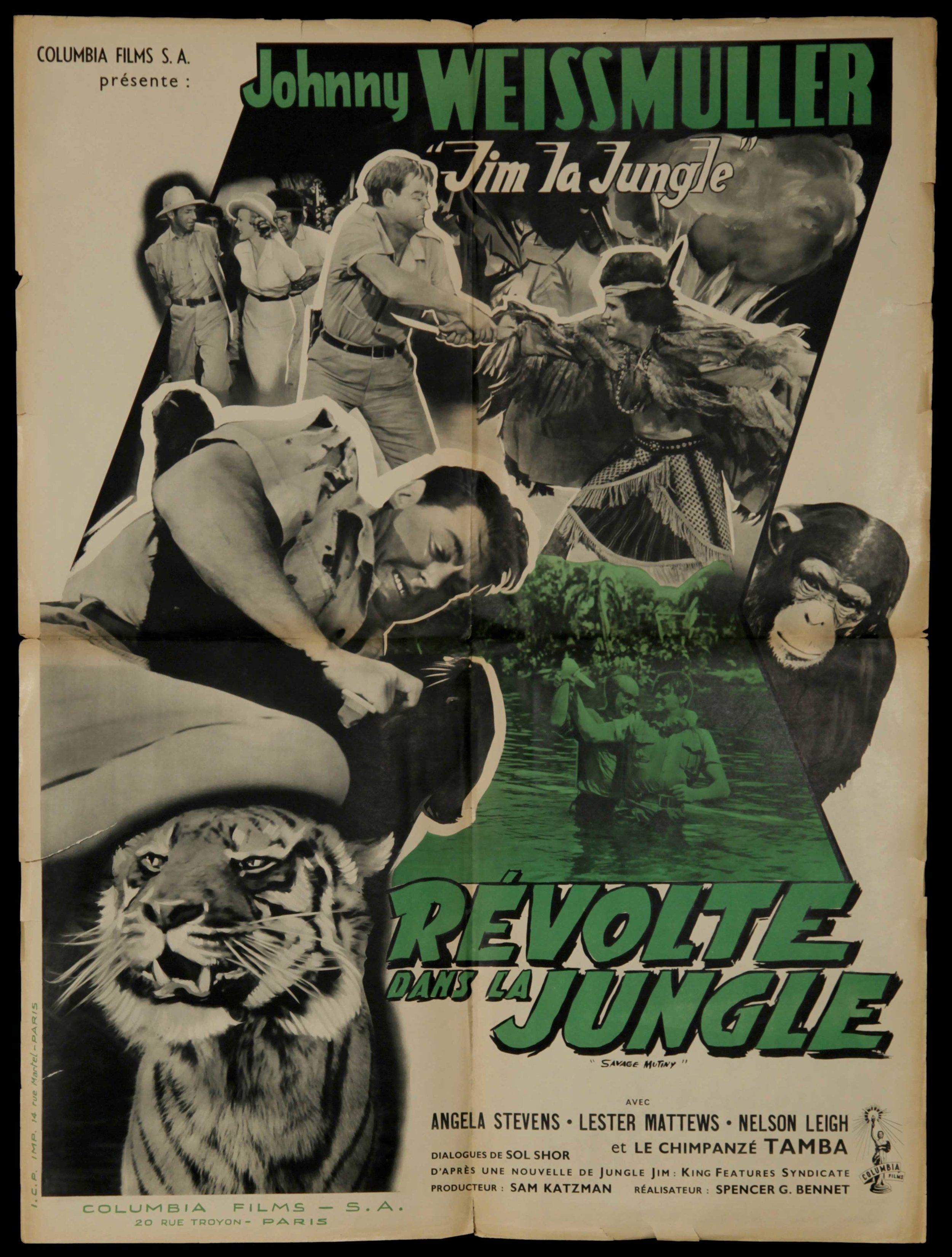 Jim La Jungle: Revolte Dans La Jungle (1953)