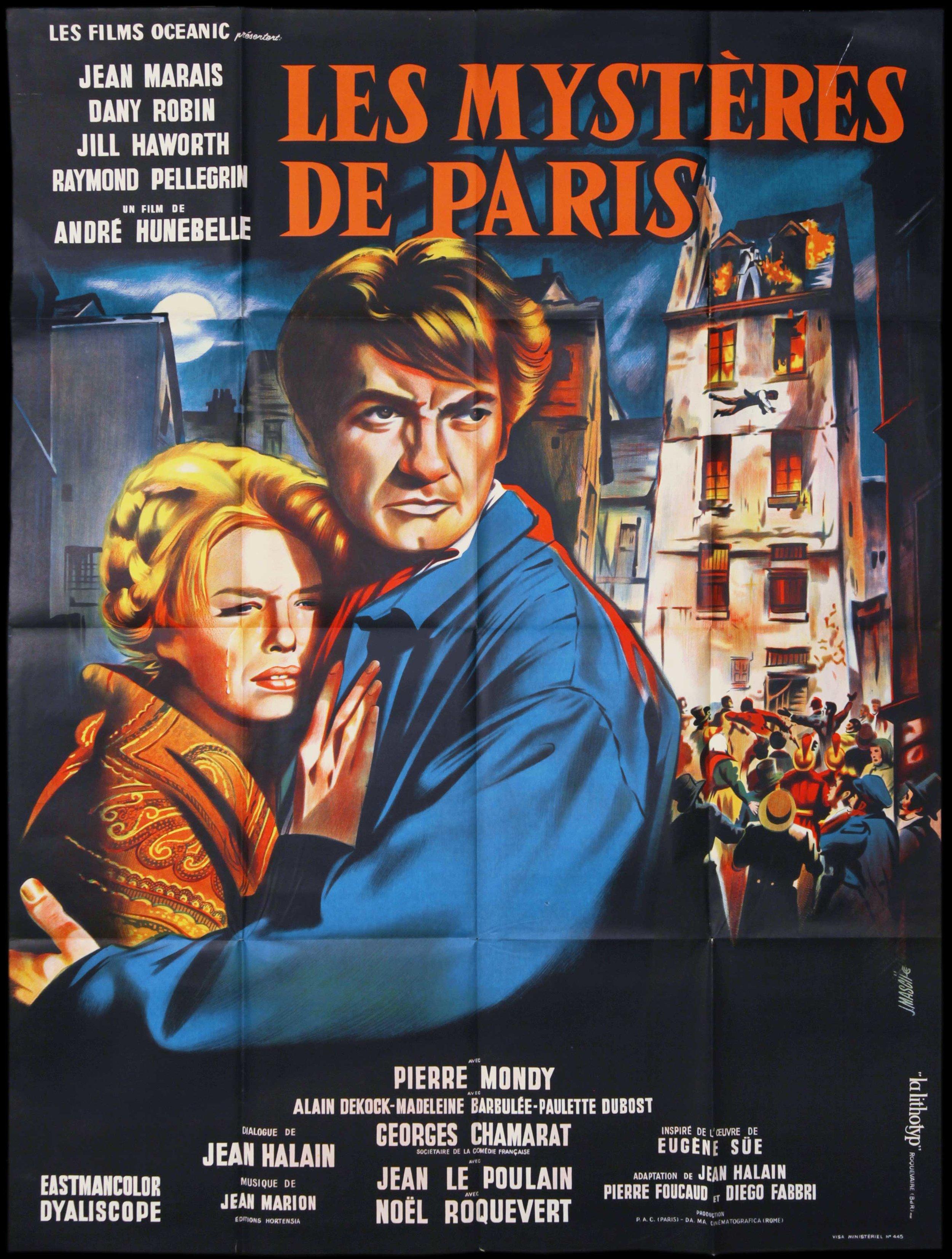 Le Mysteres De Paris (1962)