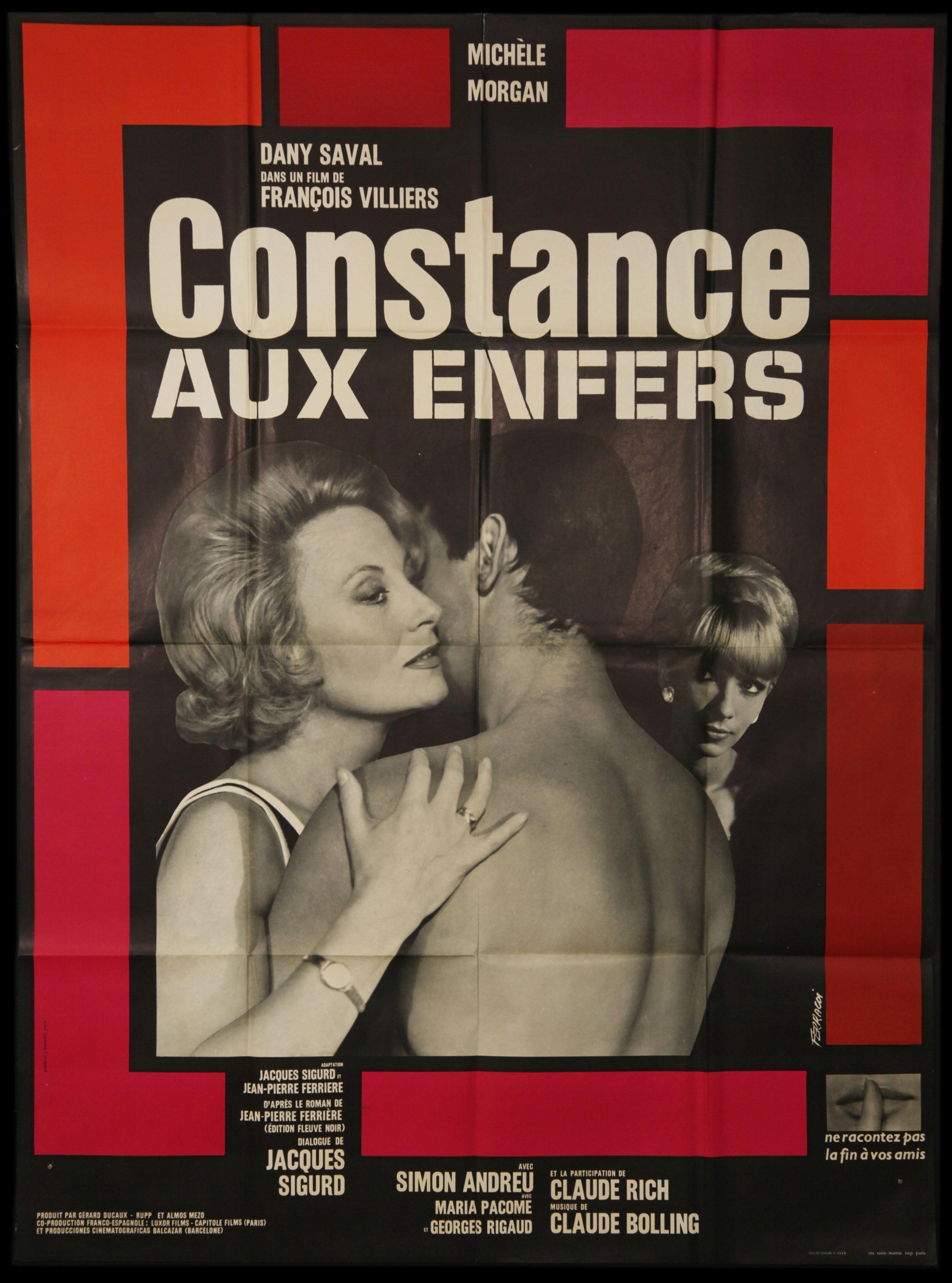Constance Aux Enfers (1963)