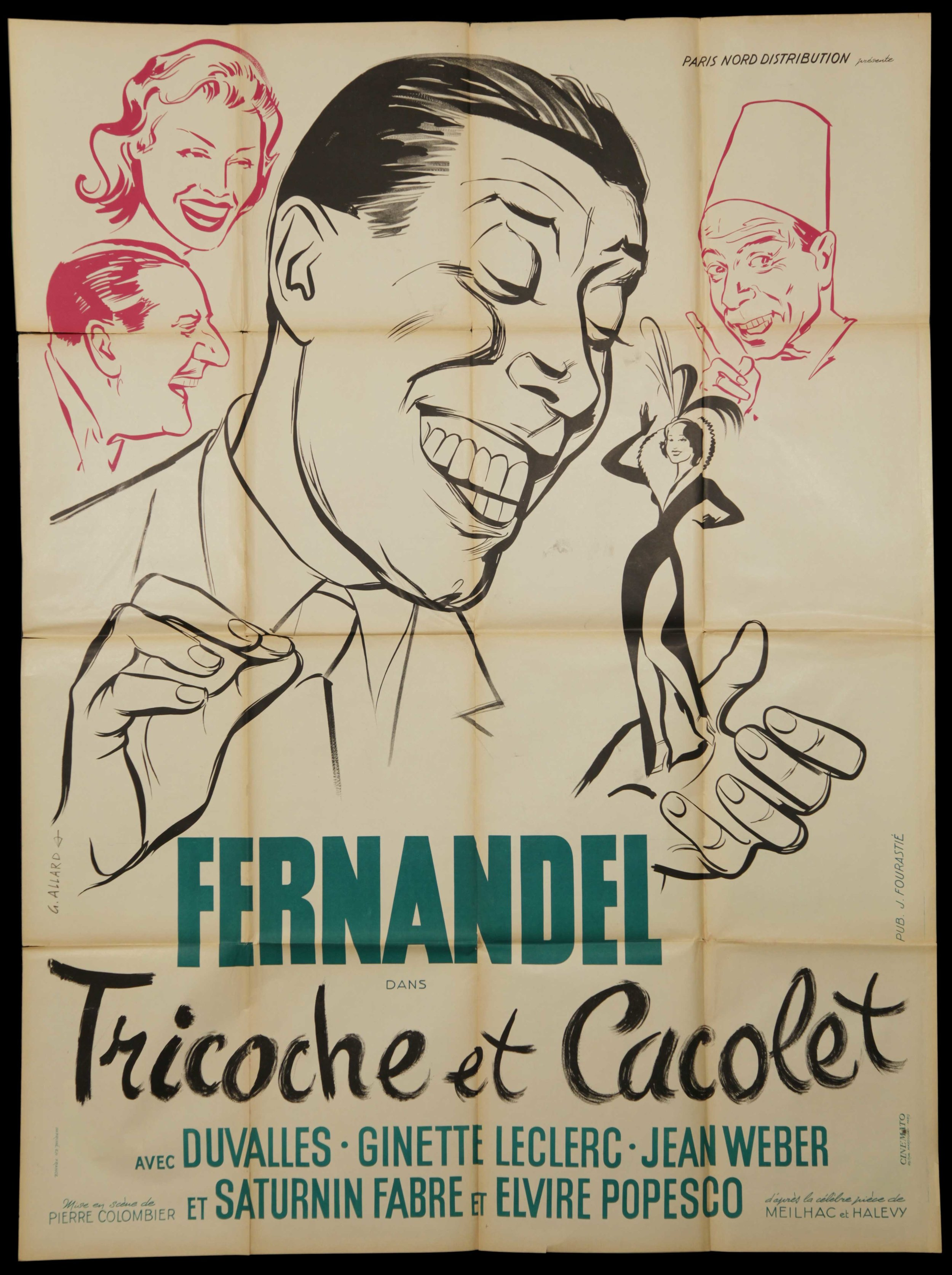 Fernadel in Tricoch Et Cacolet (1938)