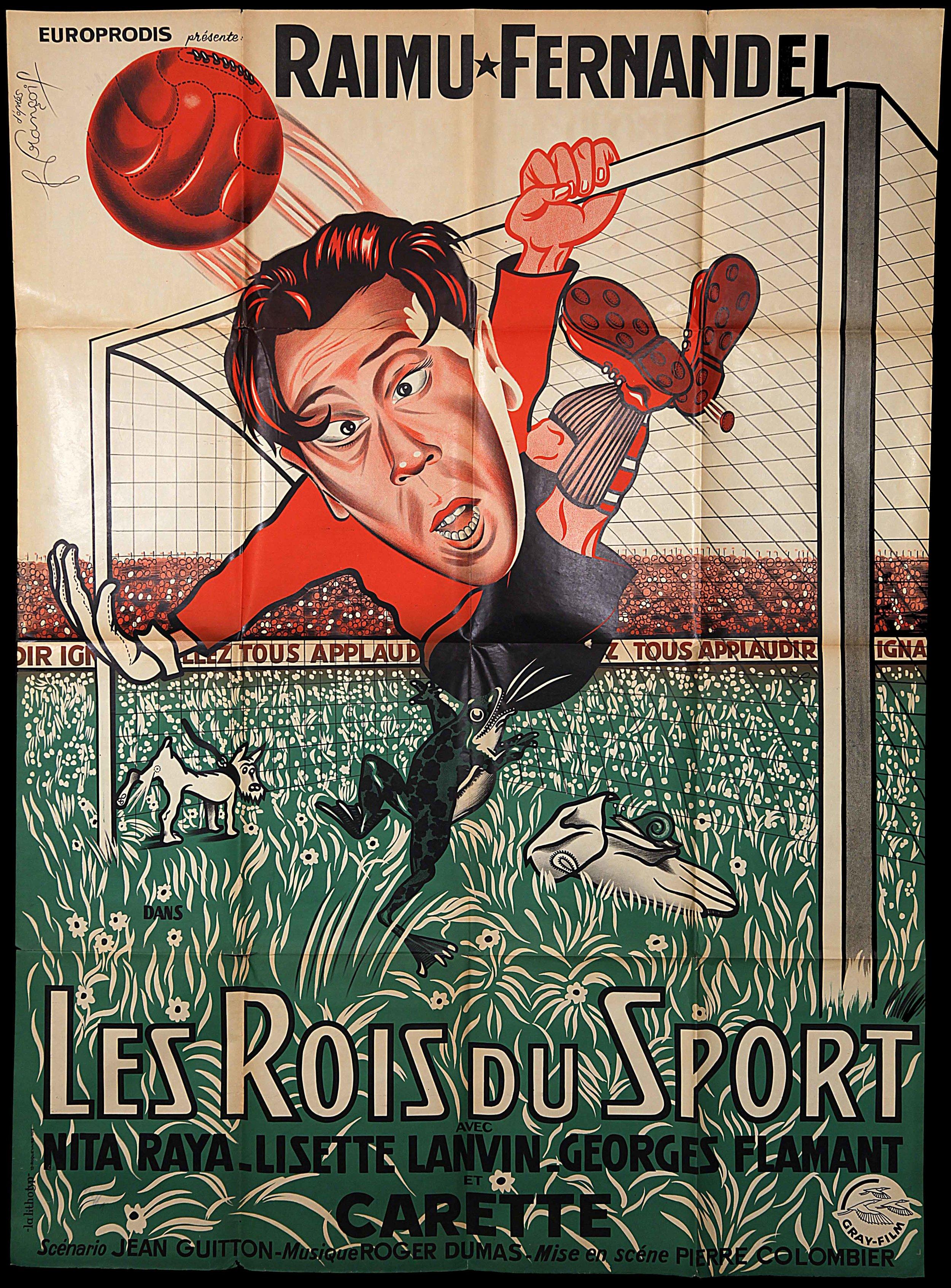 """Fernadel in """"Les Rois Du Sport"""" (1937)"""