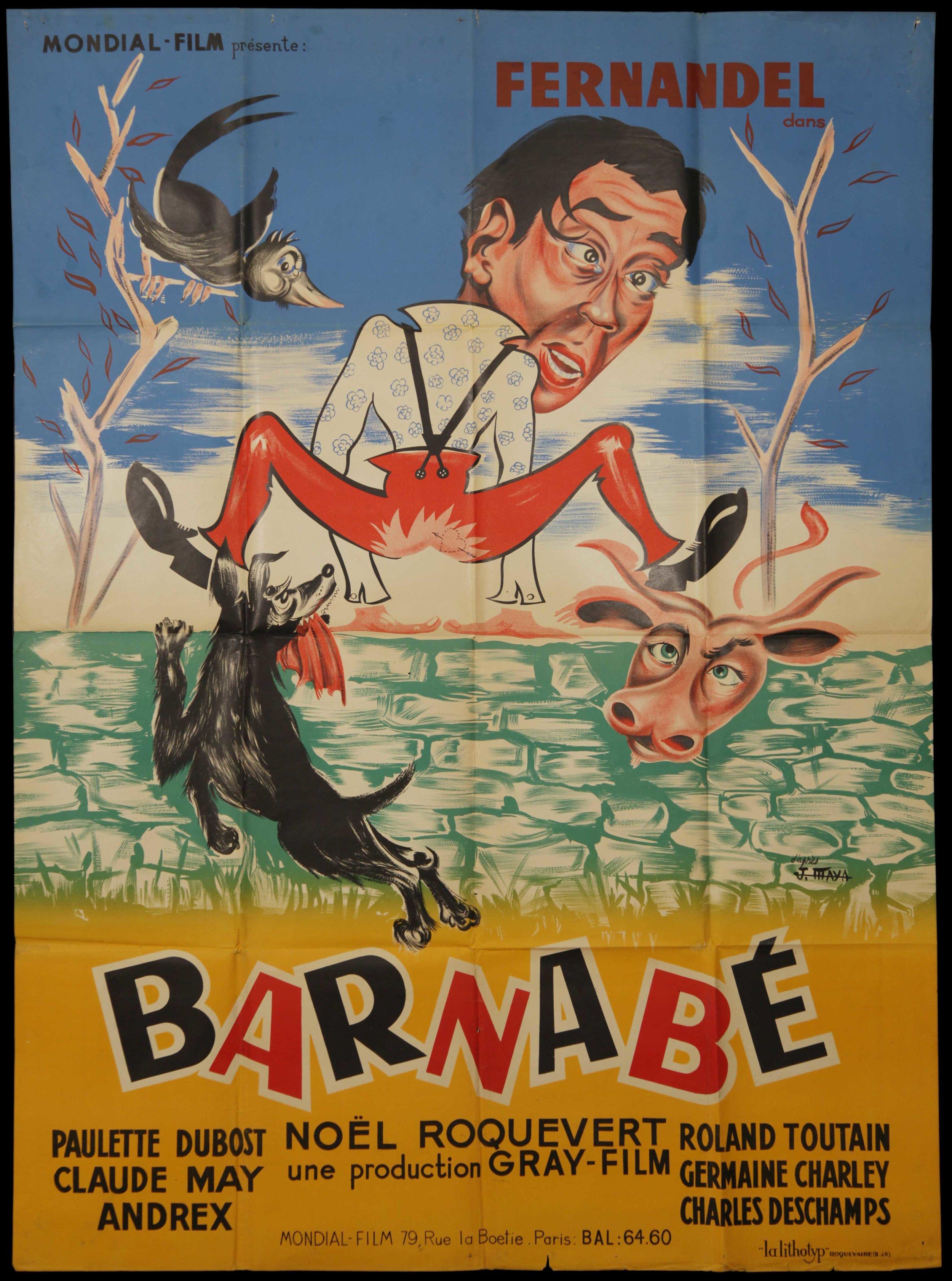 """Fernadel in """"Barnabé"""" (1938)"""