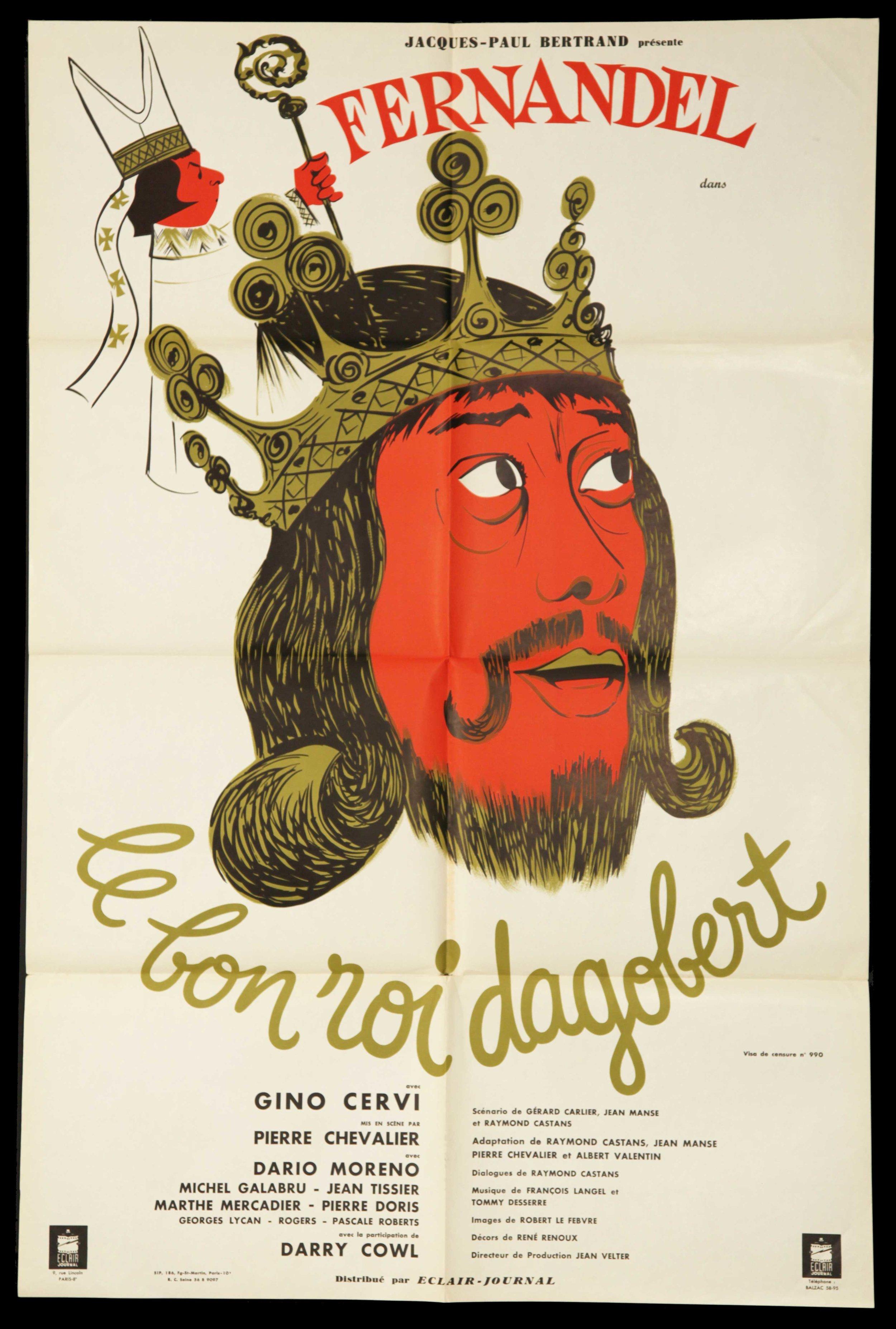 """Fernadel in """"Le Bon Roi Dagobert"""" (1963)"""