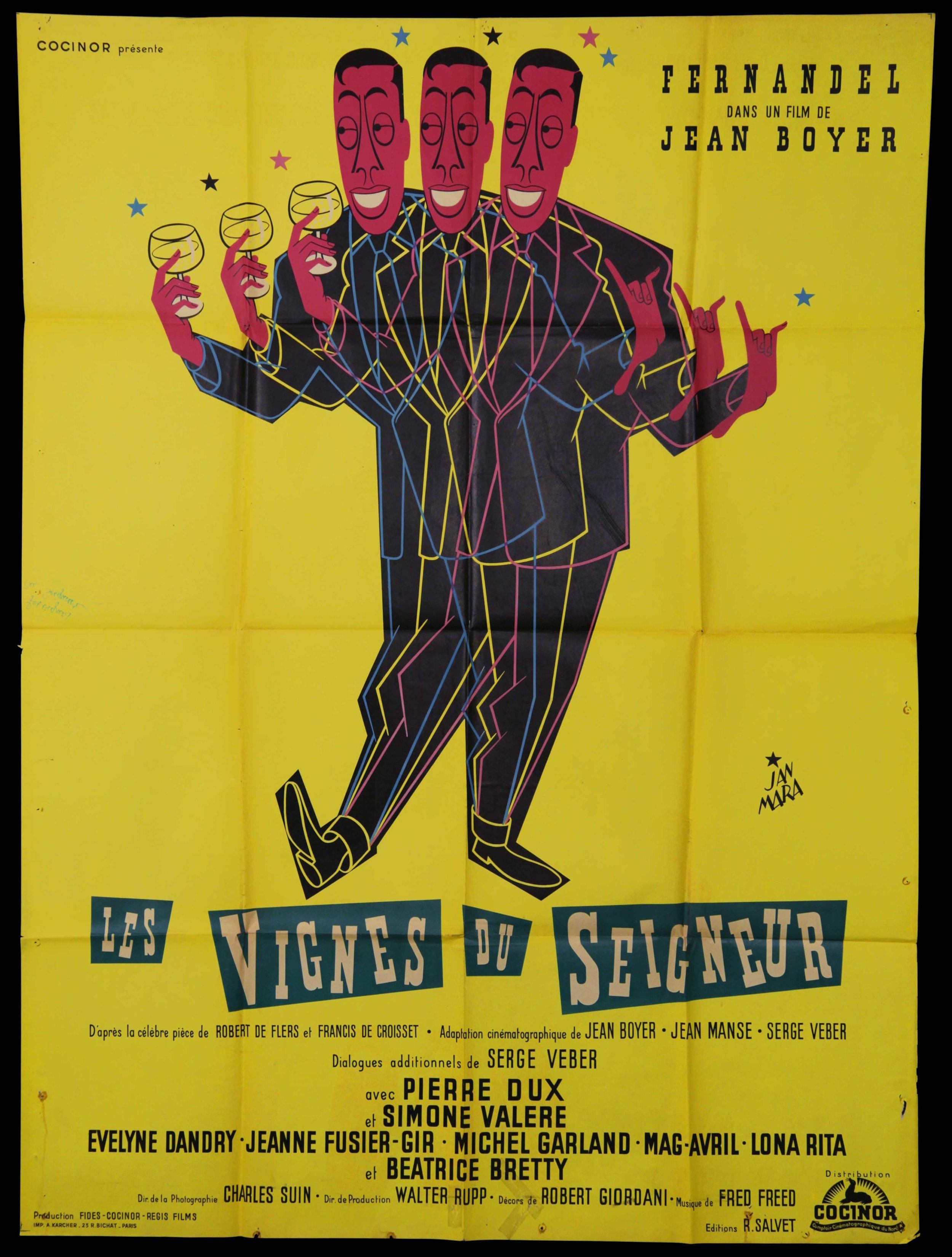 """Fernadel in """"Les Vignes Du Seigneur"""" (1958)"""