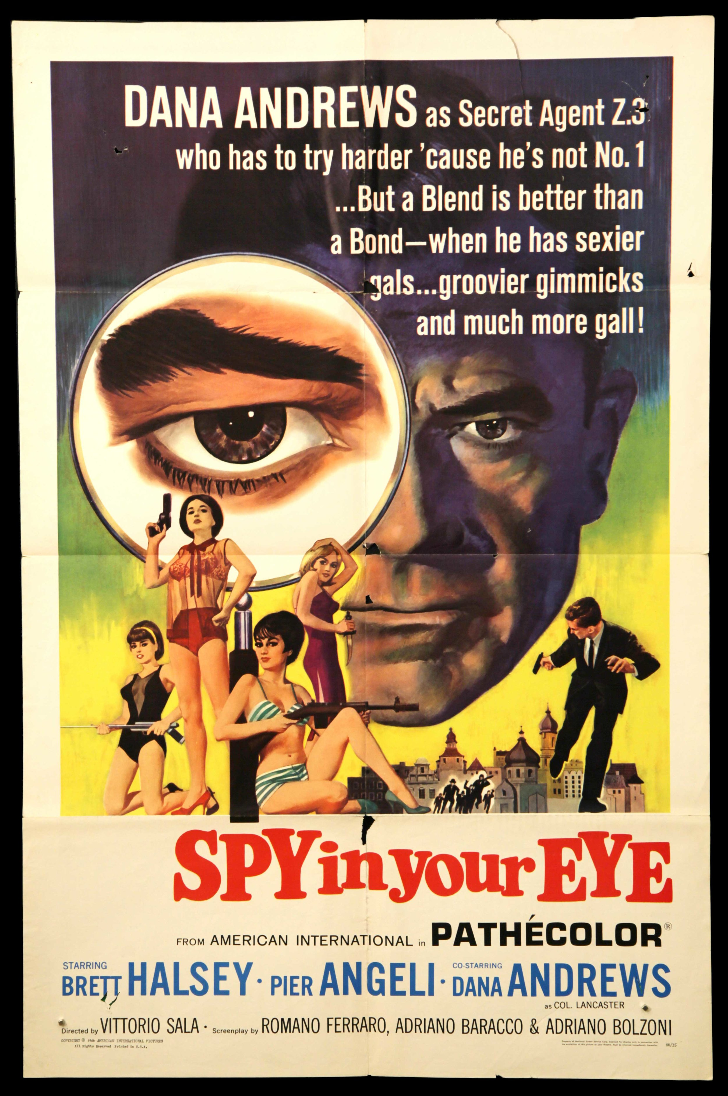 Spy In Your Eye (1966)