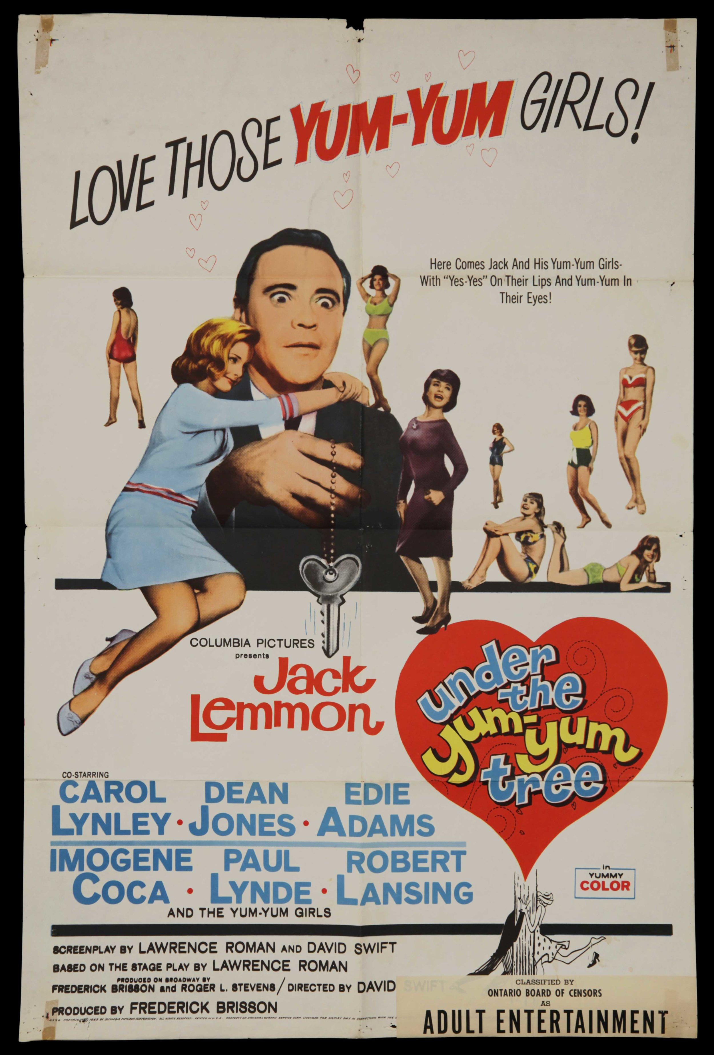 Under The Yum Yum Tree (1963)
