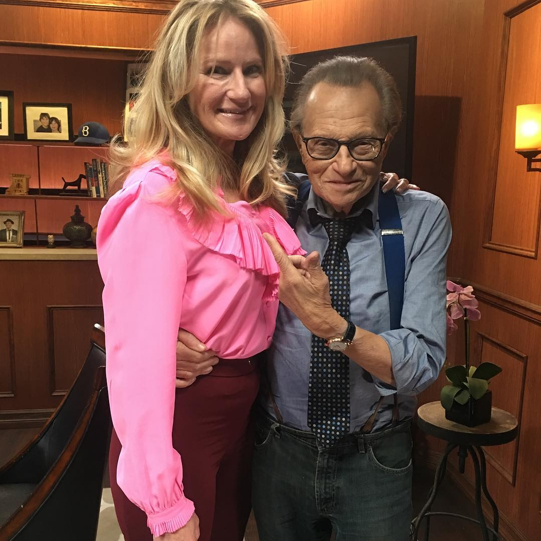 On Larry King Now - Being interviewed by the Legendary Larry King in 2018 was a highlight of my life!