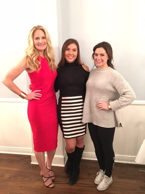 USC- Pi Phi Sorority Scholarship Dinner - Loved speaking to this sorority in 2017 with students Haley Jones (now working at UTA as an assistant) and Maryelizabeth O'Donnell (now working as an actress in Los Angeles)