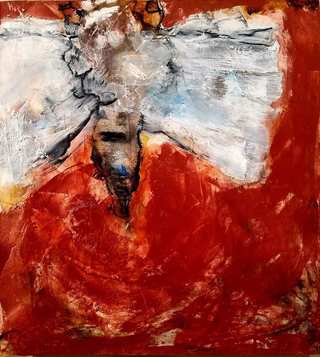 Chuck Potter _Peeni Walli_Acrylic, rust, sumi ink, plaster, on canvas _ 20 x 22_1034.jpg