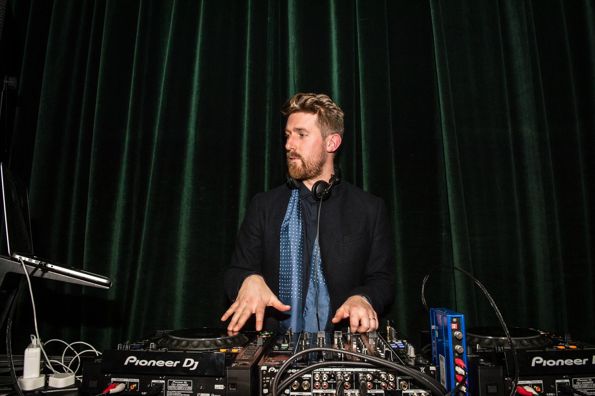 DJ Dan Browne at The BRIT Awards