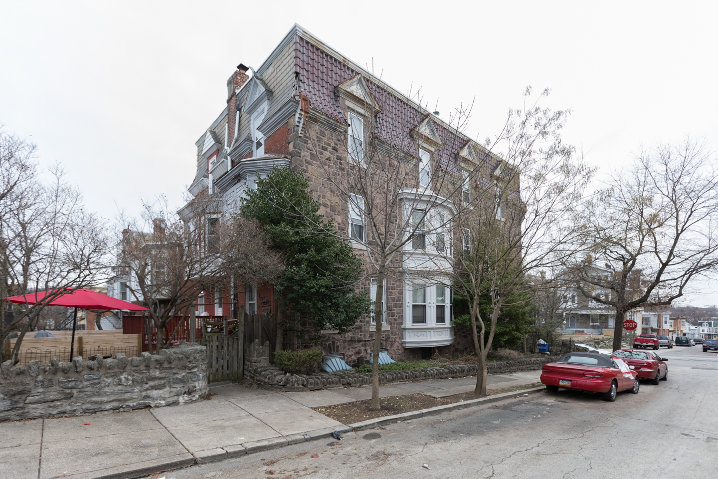 Germantown multifamily - Nine Unit Building with value add where we converted three one bedroom units to two bedrooms.
