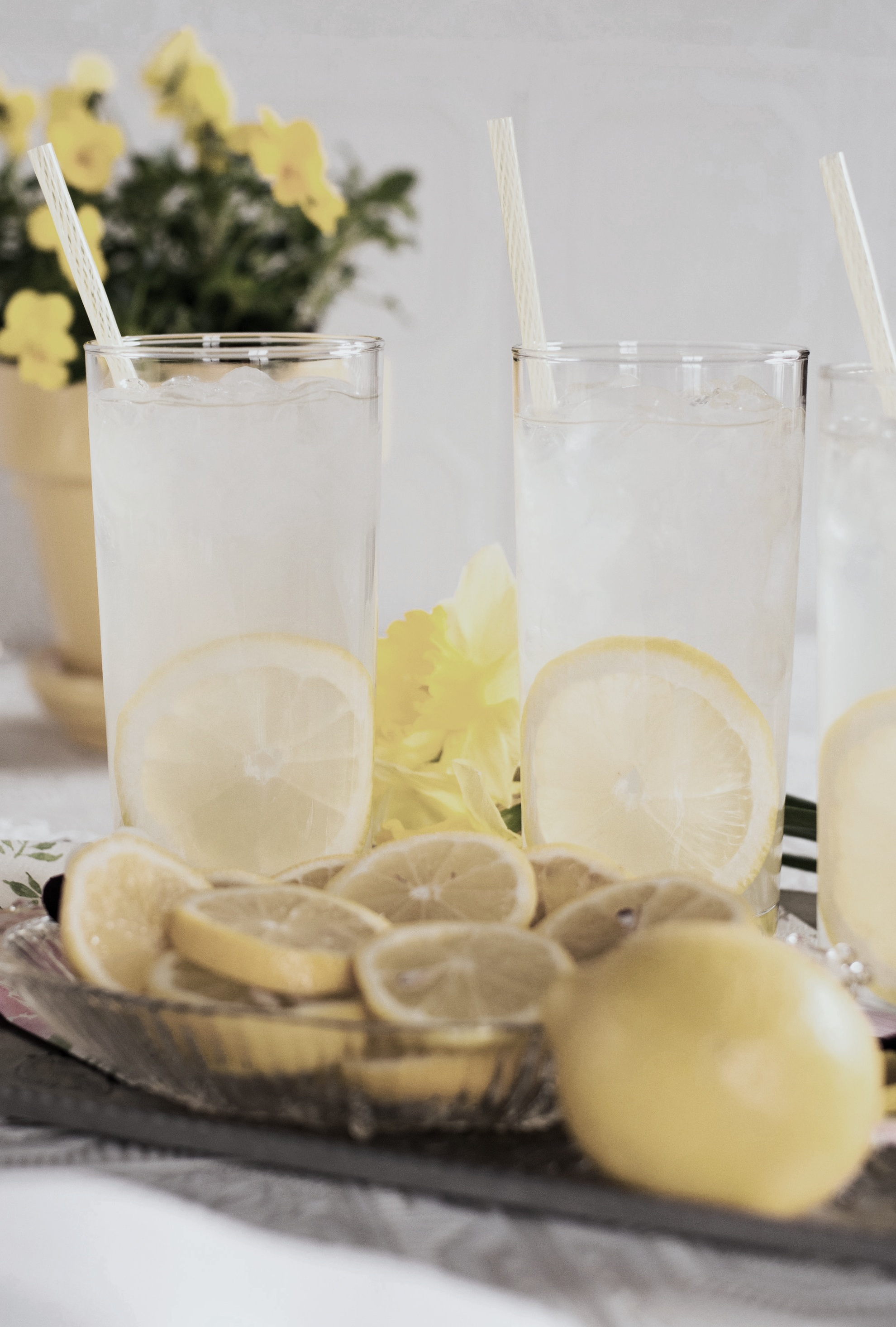 Lemon water is excellent for your health.