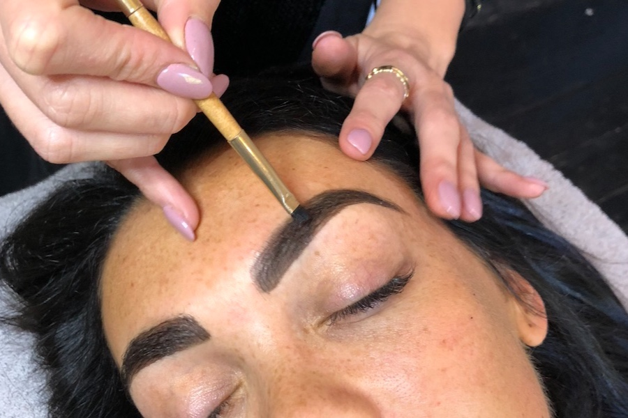 Henna Brow Sculpt - regular visit - $75 with Victoria*$70 with Melinda$65 with Florence