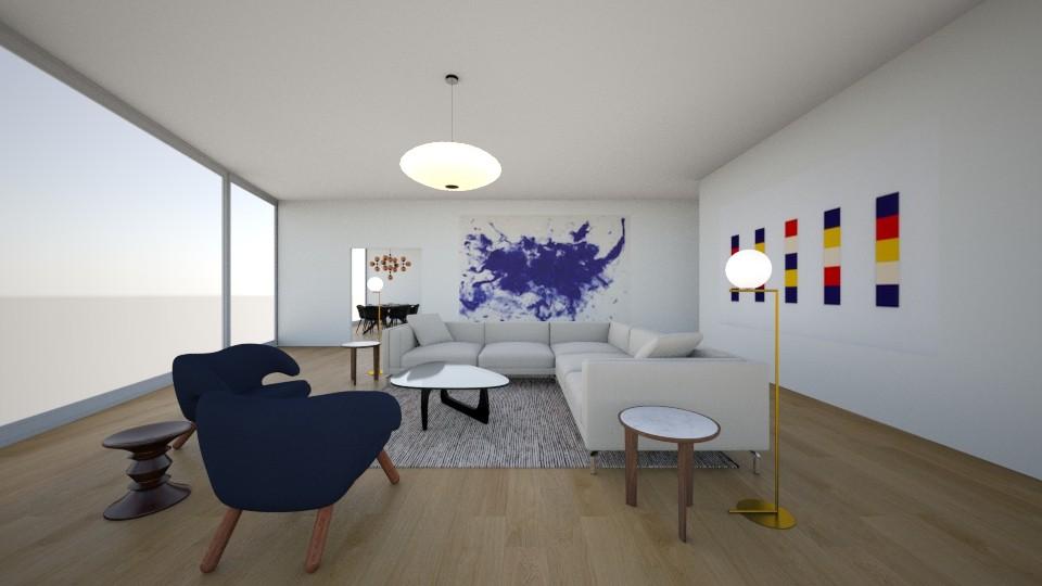 DWR Client Rendering - SoHo Penthouse