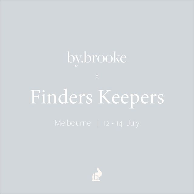 We are at @finders_keepers this weekend showcasing our sister brand @by.brooke . #interiordesign #design #creative #finderskeepers #styling #designers