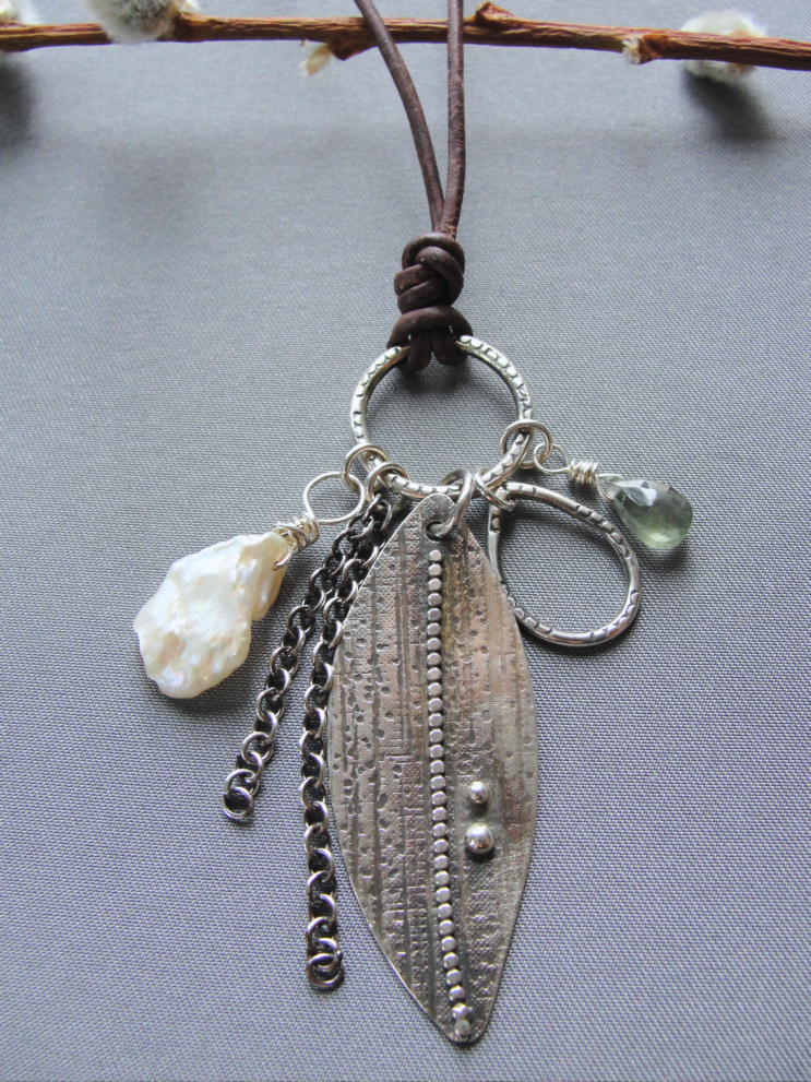 Nancy Jane - Elizabethtown, PA - Contemporary jewelry designs mixed with organic components and made locally.