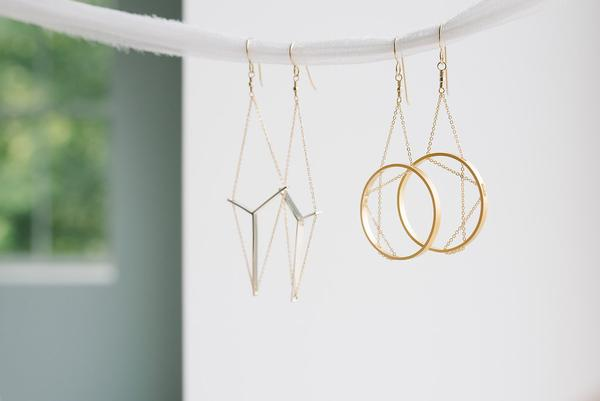 Vanessa Gade - San Fransisco, CA - Inspired by architecture and guided by love of modern design, Vanessa's collection is rooted in traditional craftsmanship.