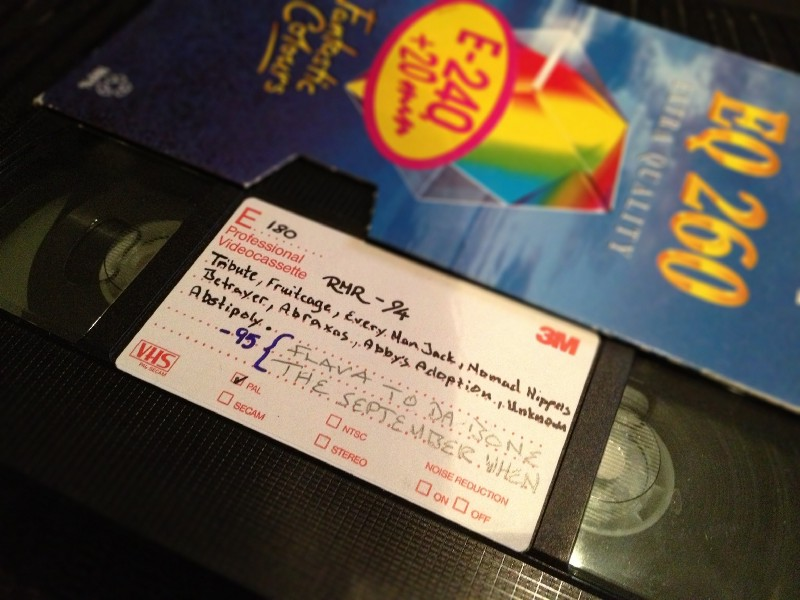 Old VHS from RMR 1994 and 1995
