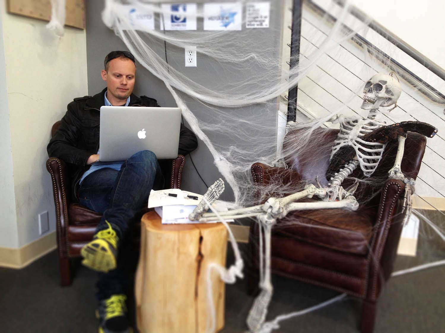 Normal day at the office (Innovation House, Palo Alto)