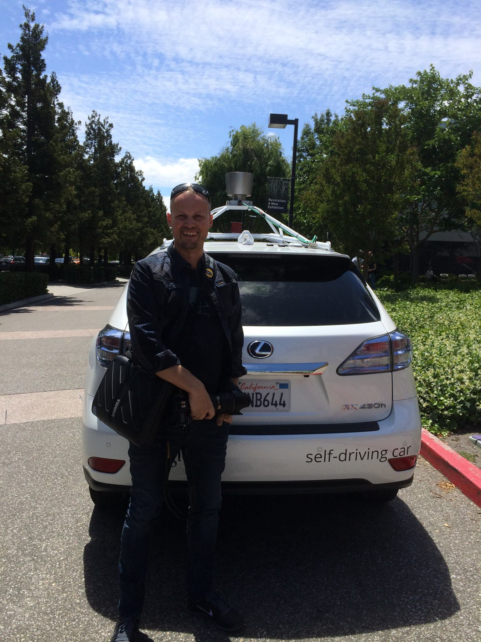 Testing the Google slef-driving car - 15th of December 2014