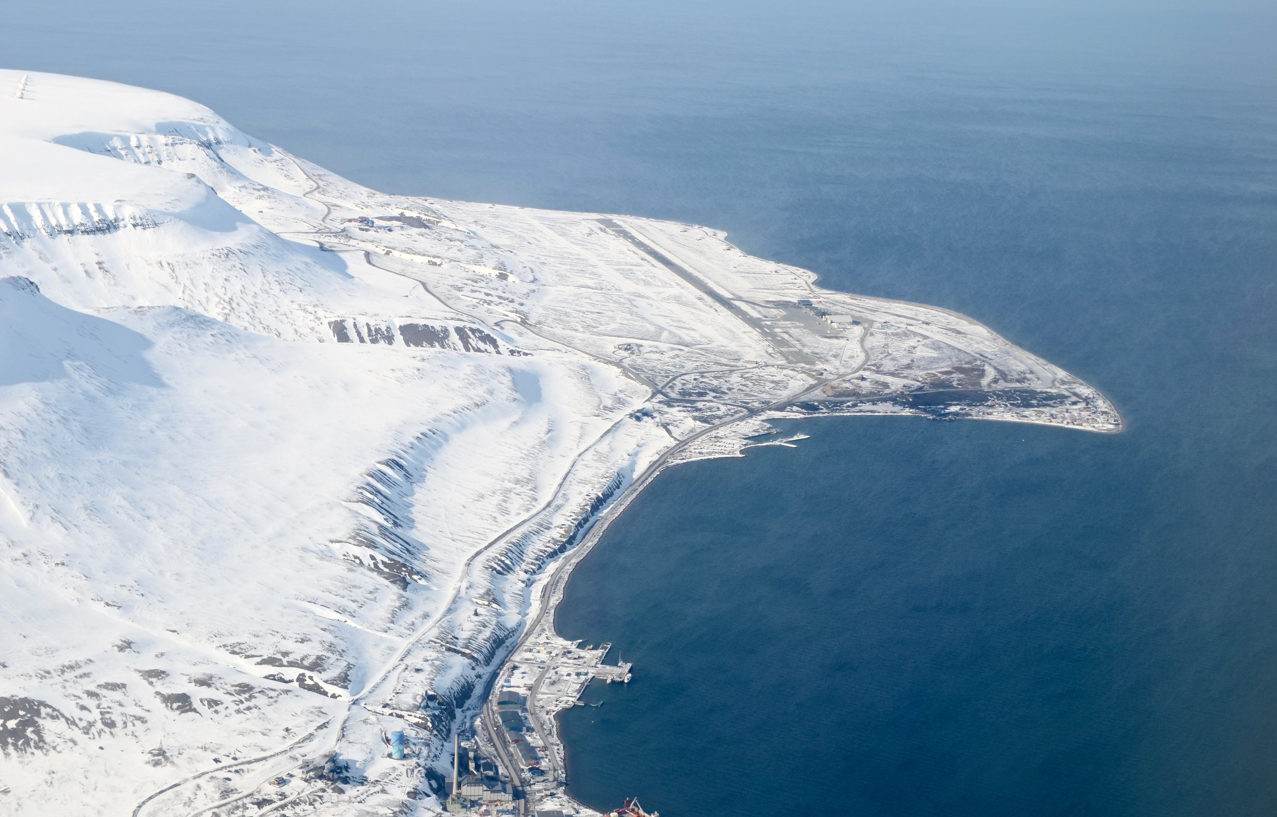 Svalbard Airport, Longyear - This is the northernmost airport in the world with scheduled public flights.