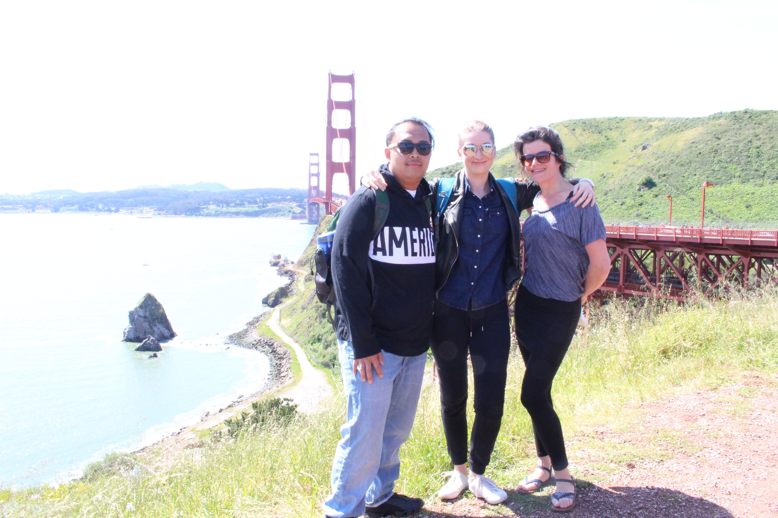 San Francisco, with Michael and Annelies